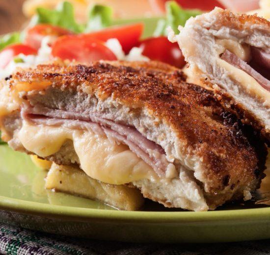 Receta de bistecs de cerdo con queso crema