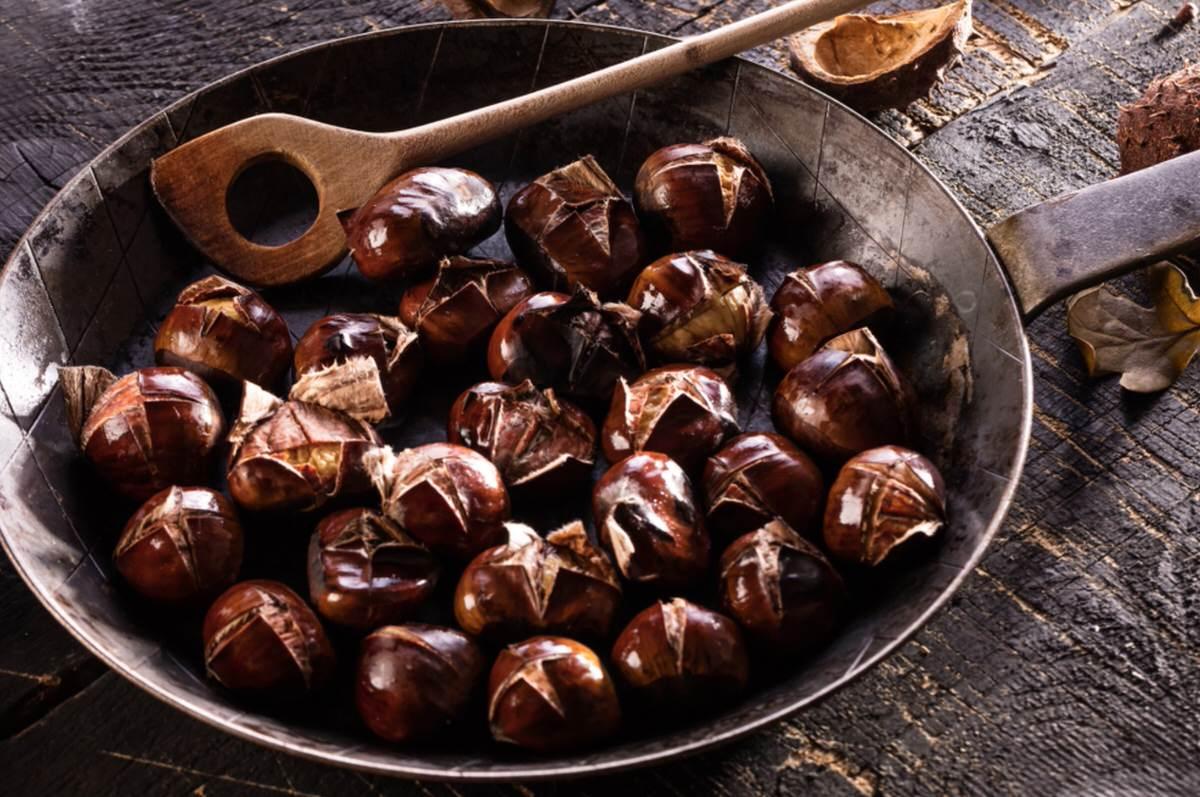 ¿Sabes cómo asar castañas?