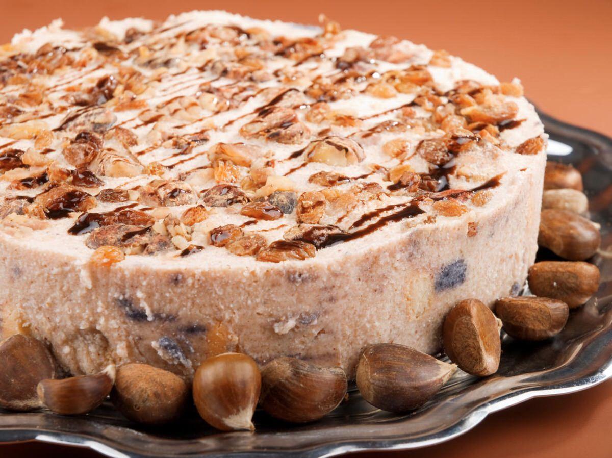 Cómo hacer un pastel de castañas