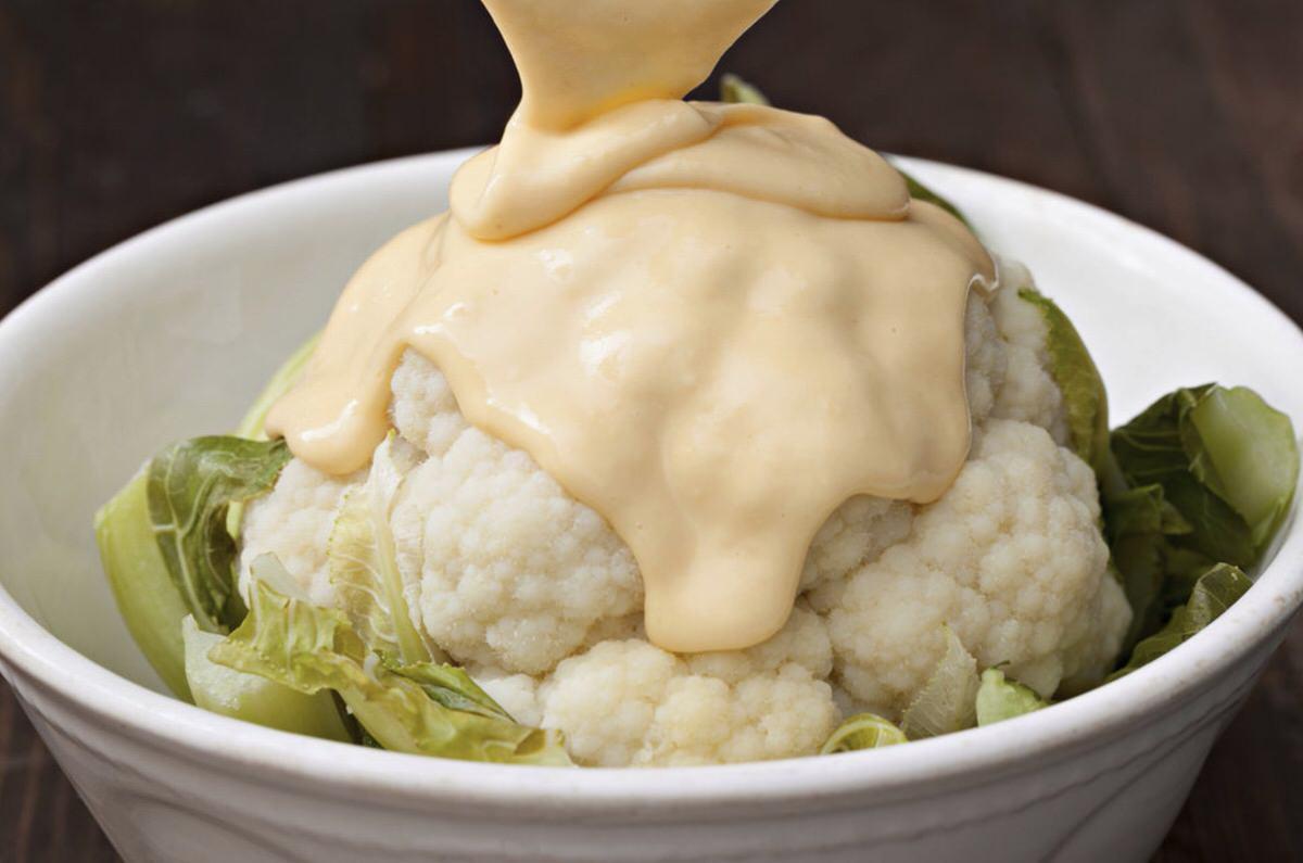 Salsa de queso para gratinar