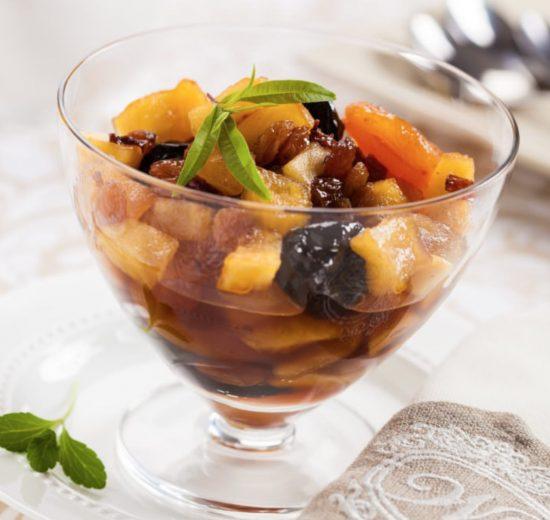 Cómo hacer compota de fruta de otoño