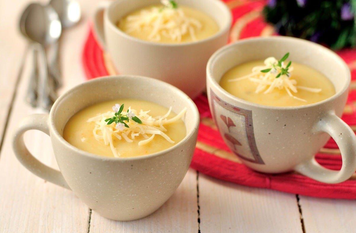 Crema de patatas y queso