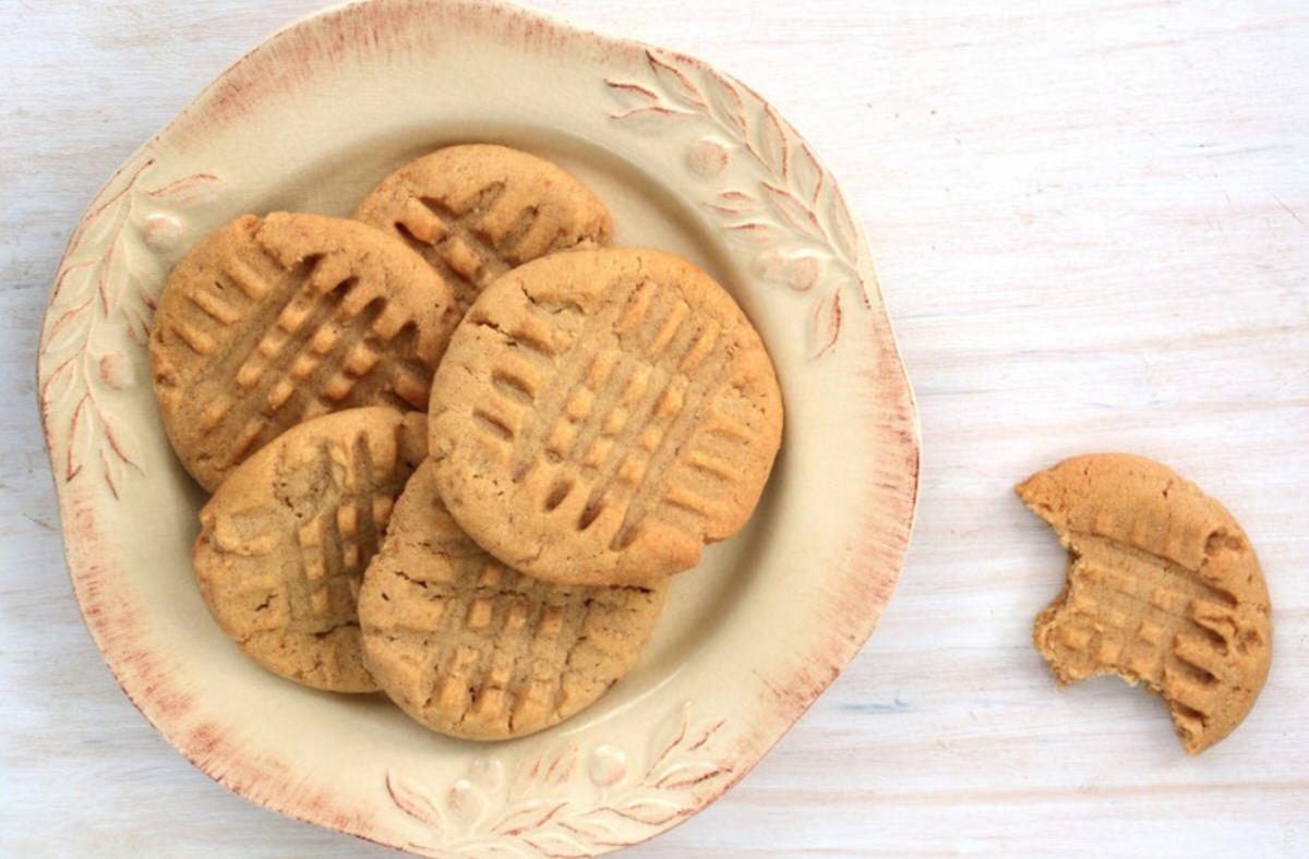 Galletas de cacahuete