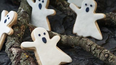 Cómo hacer galletas con forma de fantasma
