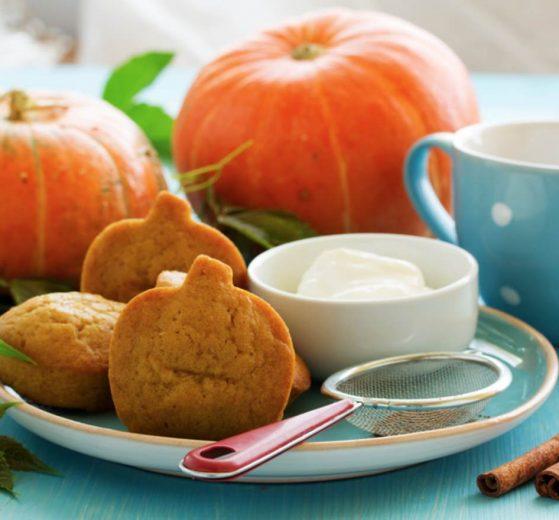 Galletas con forma de calabaza (Halloween)