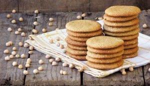 Cómo hacer galletas de harina de garbanzos