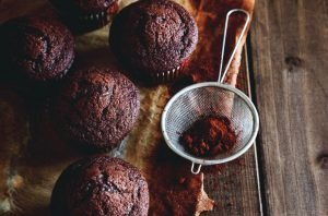 Cómo hacer Magdalenas de chocolate y cafe