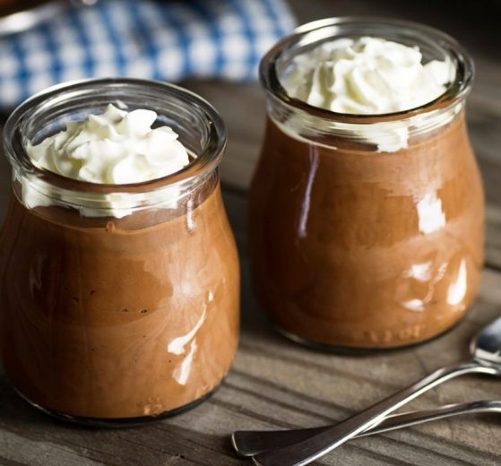 Mousse de chocolate cremoso