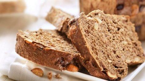 Cómo hacer pan de nueces