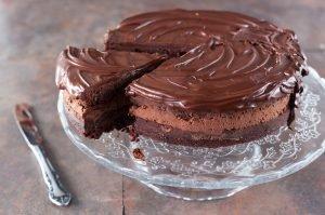 Cómo hacer Tarta de mousse de chocolate