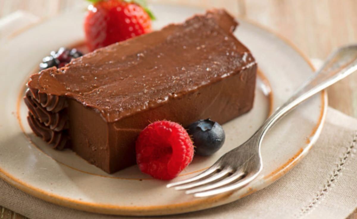 Terrinas de chocolate al ron