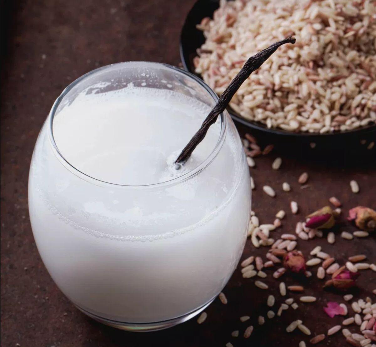 Receta de leche de arroz