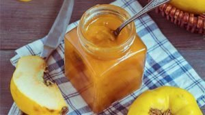 Mermelada de membrillo y limón