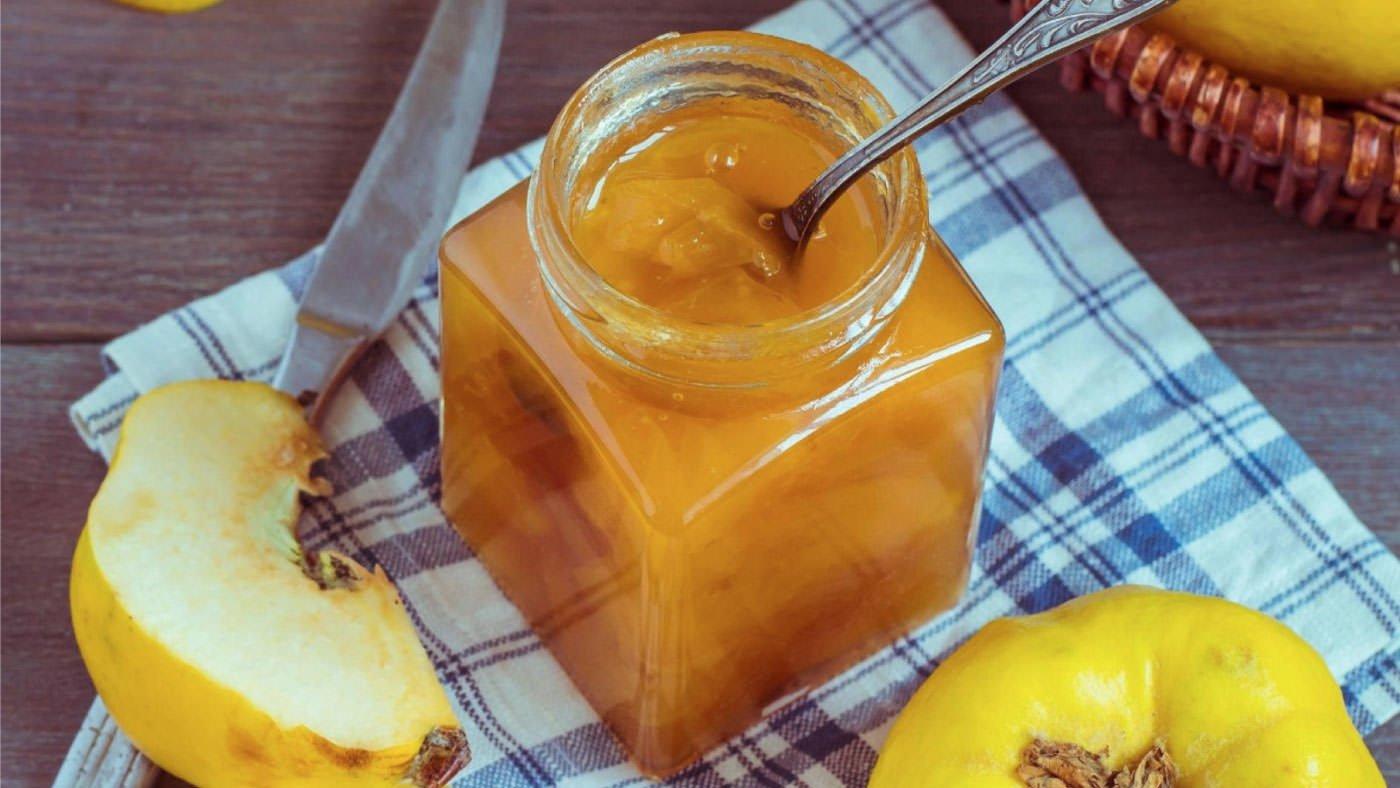 Receta de Mermelada de membrillo y limón