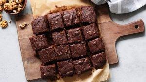 Receta de Brownies sin gluten