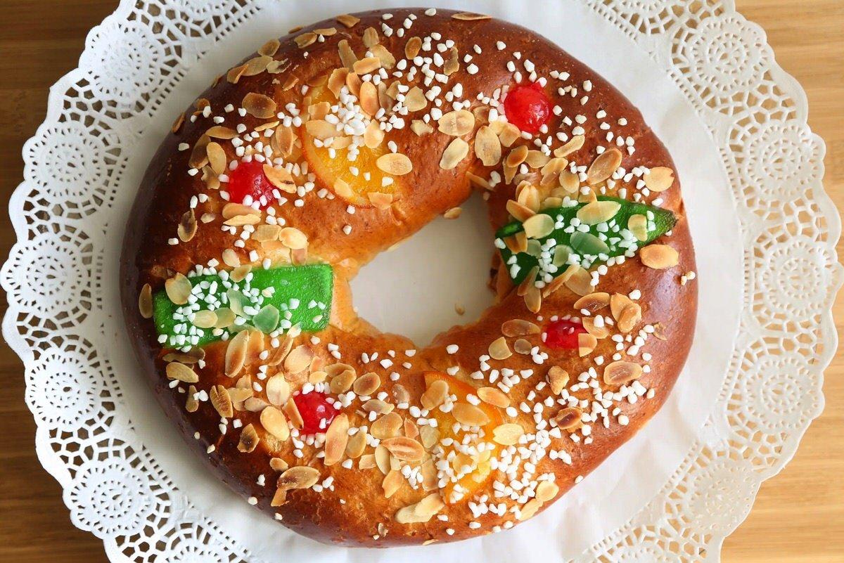 Receta de Roscón de Reyes Tradicional