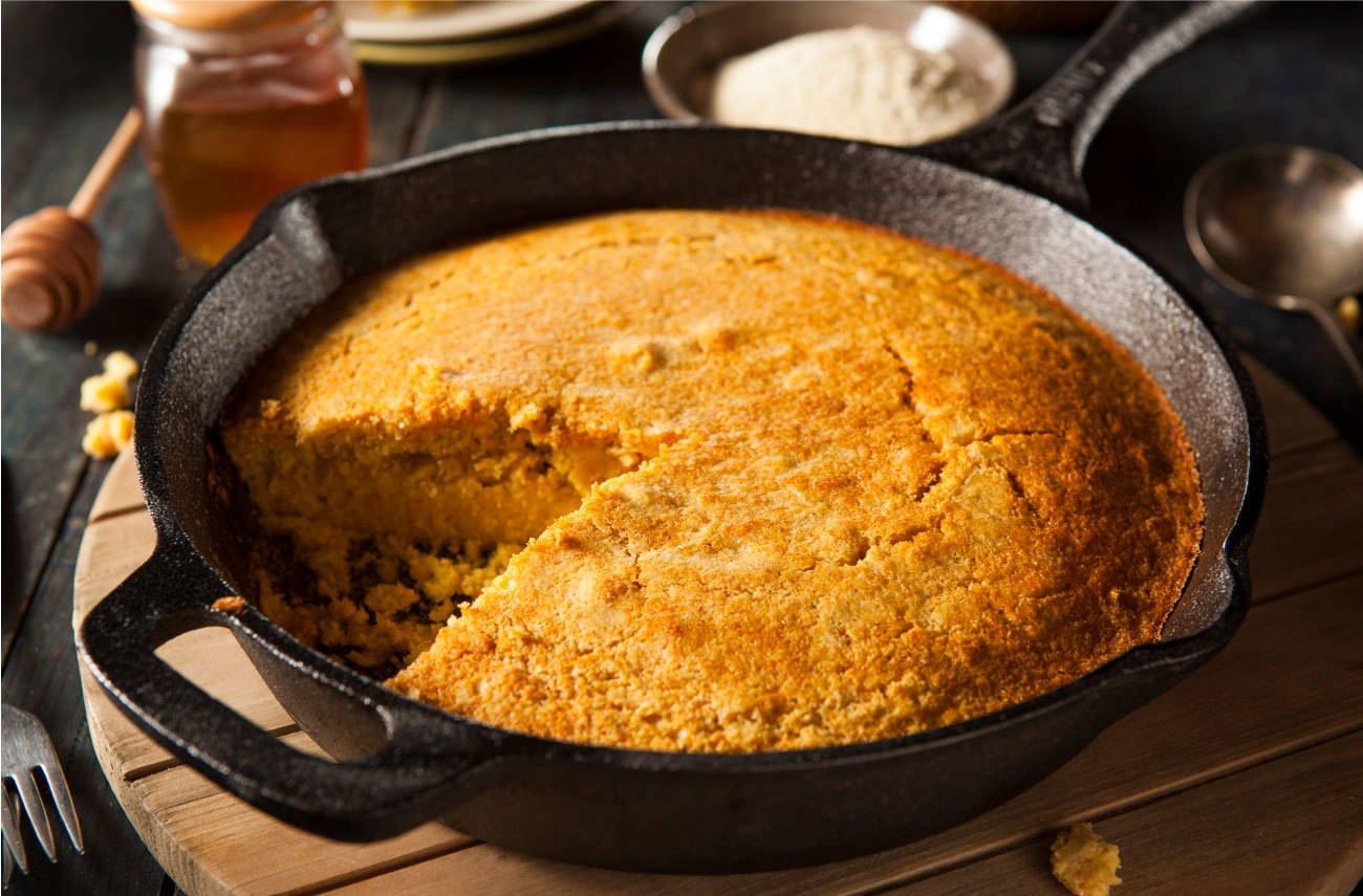Delicioso pan de maíz