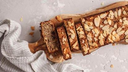 Cómo hacer Bizcocho de miel y almendras