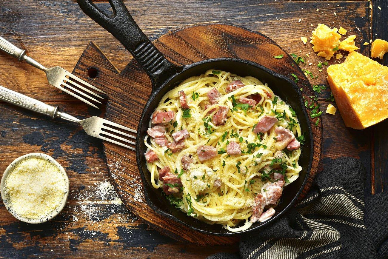 Cómo hacer Espaguetis a la carbonara