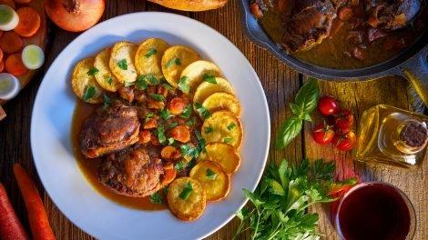 Cómo hacer Carrilladas de cerdo en salsa