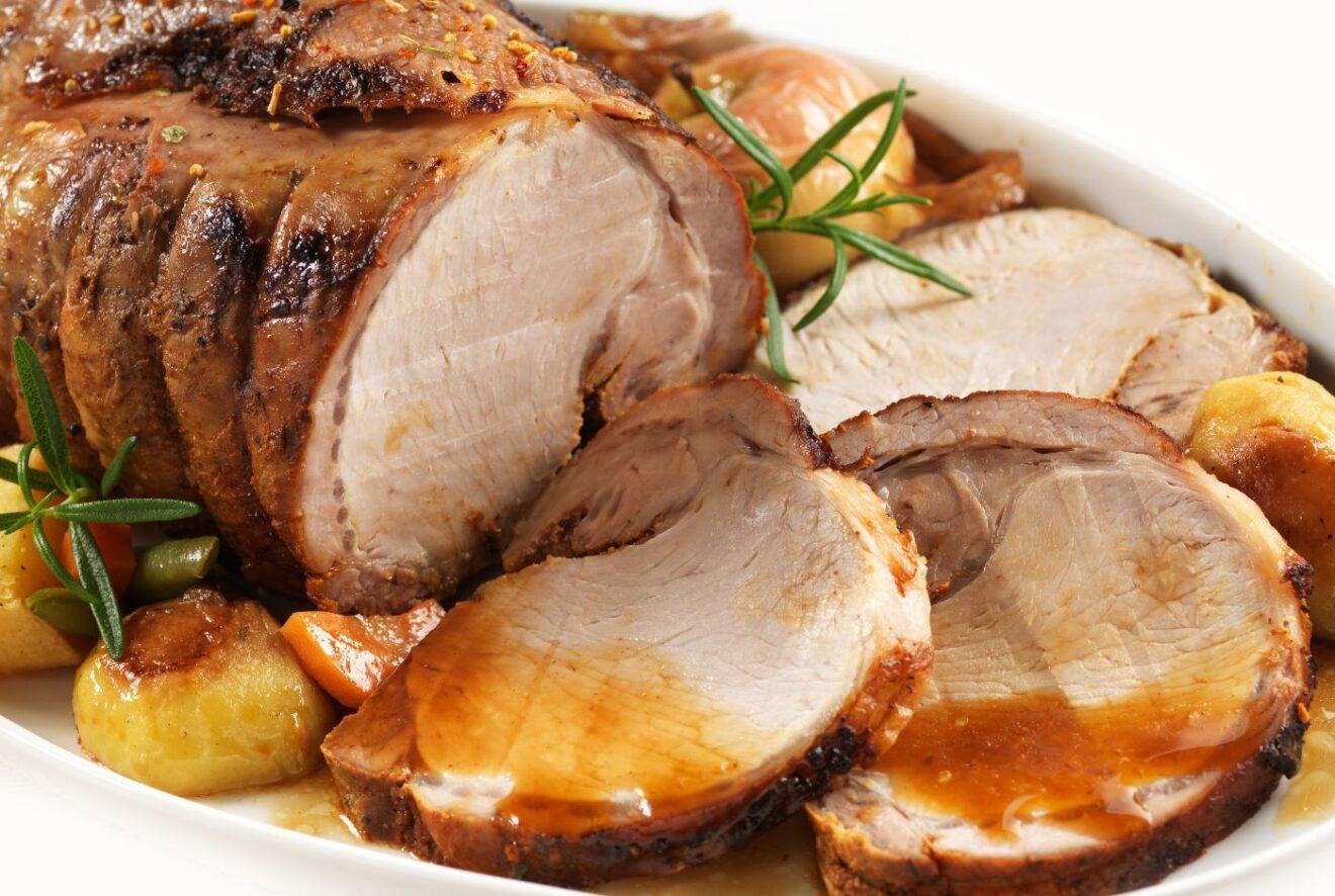 Cómo preparar lomo de cerdo en salsa de cerveza.
