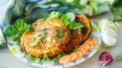 Cómo hacer Hamburguesitas de zanahoria y patatas