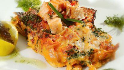 Cómo preparar lasaña de salmón ahumado
