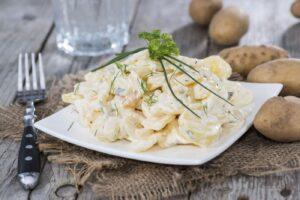 Cómo preparar ensalada de patatas