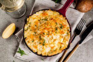 Cómo preparar puré de patatas con pimentón