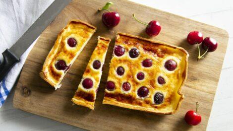 Cómo preparar tarta de cerezas