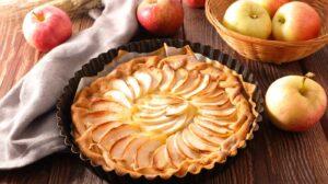 Cómo preparar tarta de manzana con hojaldre