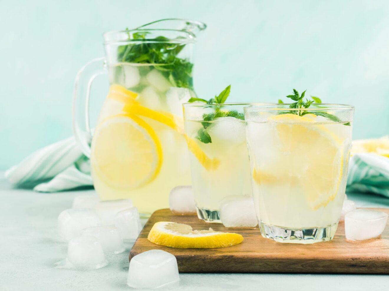 Cómo preparar bebida de limón