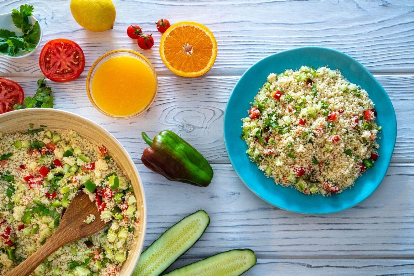 Cómo preparar cous cous de frutas