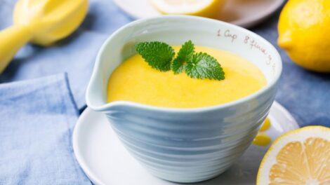 Cómo preparar crema de limón