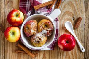 Cómo preparar frutas al horno