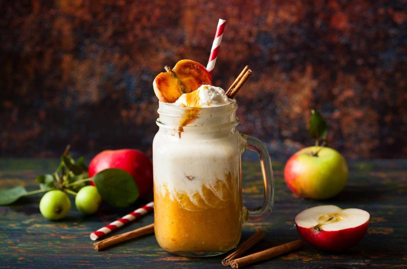 Sorbete de manzana