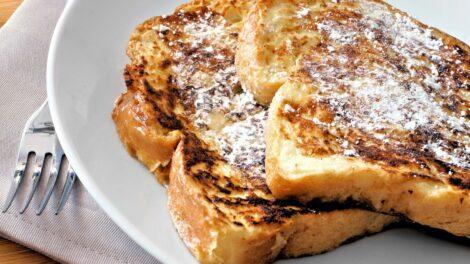 Receta de Tostadas francesas sin gluten